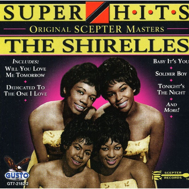 The Shirelles SUPER HITS CD
