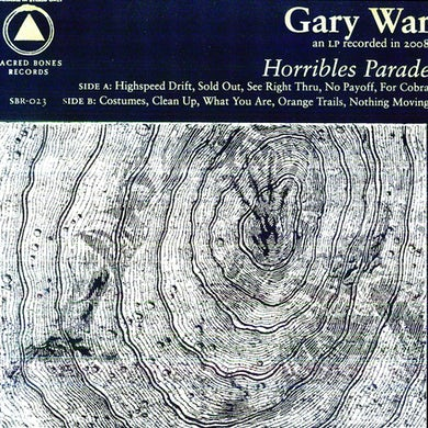 Gary War HORRIBLES PARADE Vinyl Record