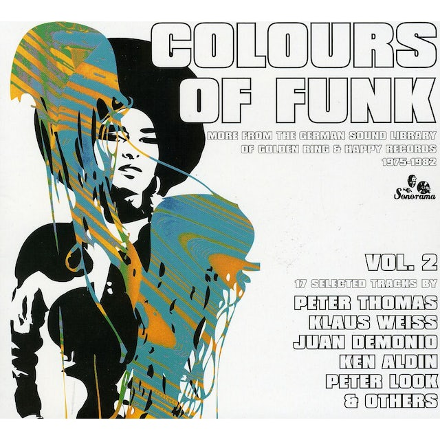 Colours Of Funk 2 / Various CD