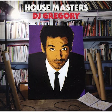Dj Gregory HOUSE MASTERS CD