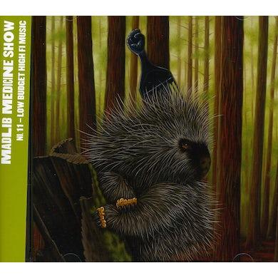 MADLIB MEDICINE SHOW 10: LOW BUDGET HIGH FI MUSIC CD