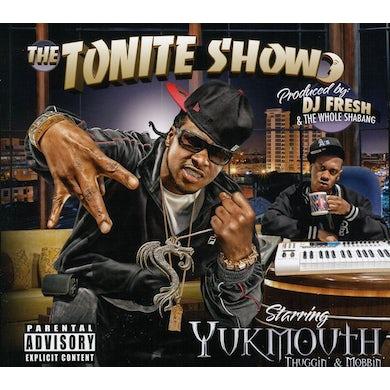 TONITE SHOW WITH YUKMOUTH: THUGGIN & MOBBIN CD