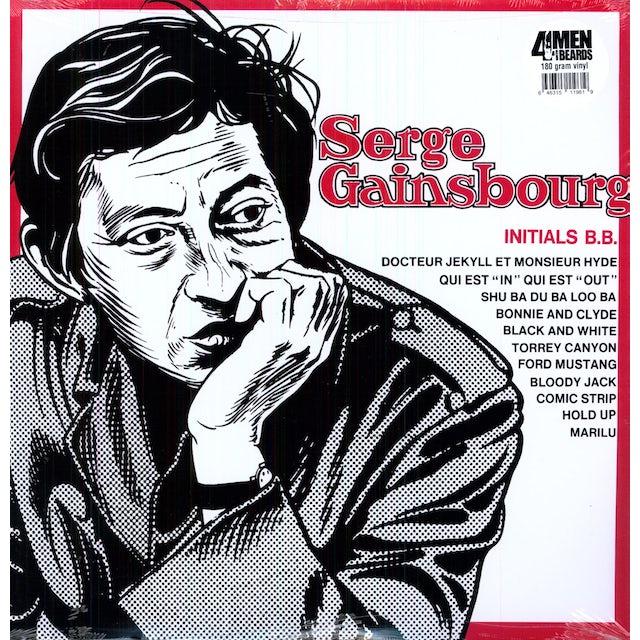 Serge Gainsbourg INITIALS BB Vinyl Record - 180 Gram Pressing