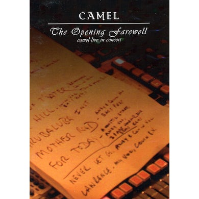 Camel OPENING FAREWELL: LIVE AT CATALYST DVD