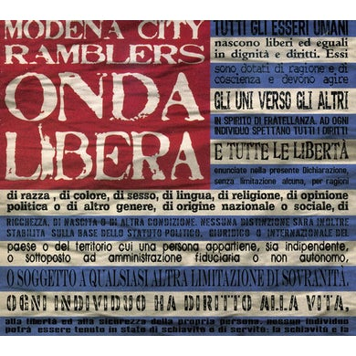Modena City Ramblers ONDA LIBERA CD