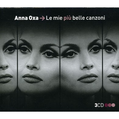 Anna Oxa LE MIE PIU BELLE CANZONI CD