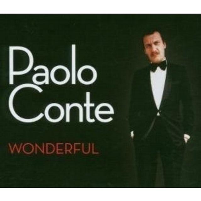 Paolo Conte WONDERFUL CD