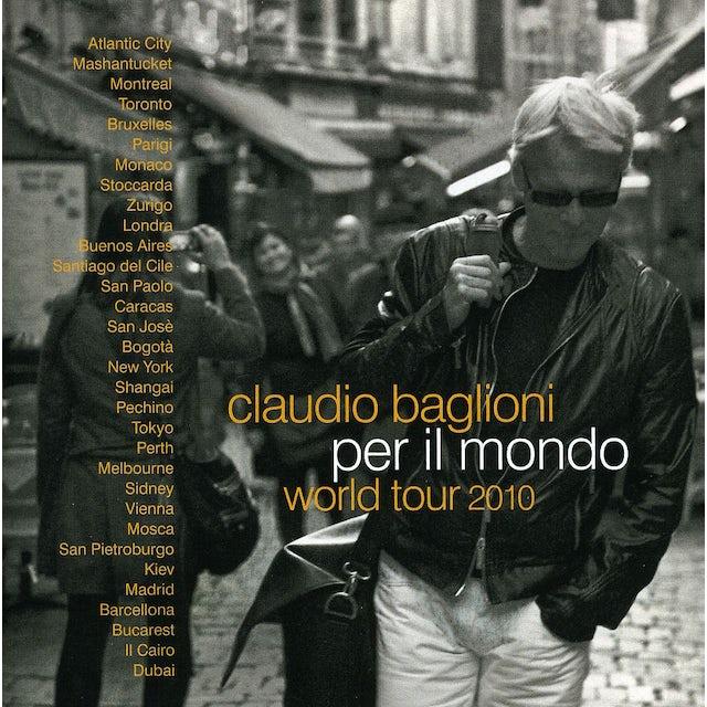 Claudio Baglioni PER IL MONDO WORLD TOUR 2010 CD