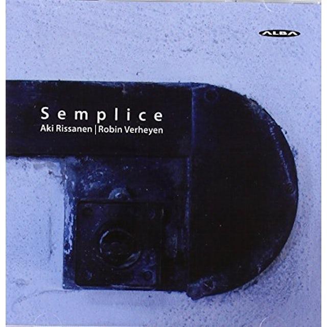 Various Artists SEMPLICE: FINNISH-BELGIAN CHAMBER JAZZ / VARIOUS CD