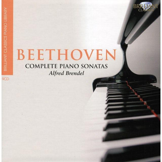 Alfred Brendel;Ludwig van Beethoven BRILLIANT CLASSICS PIANO LIBRARY: SONATAS 1-32 CD
