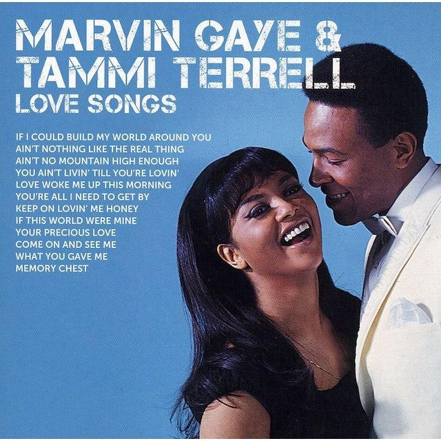 Marvin Gaye / Tammi Terrell ICON LOVE SONGS CD