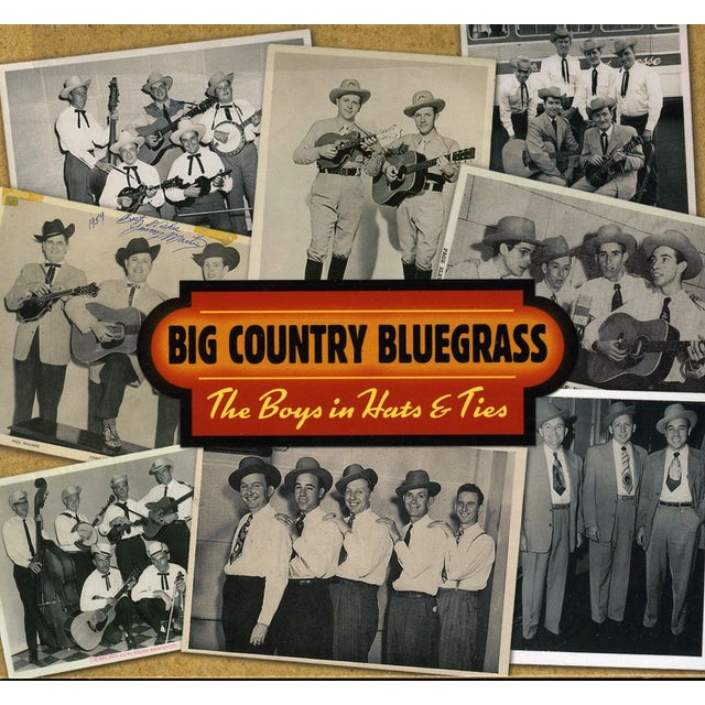 Big Country Bluegrass BOYS IN HATS & TIES CD