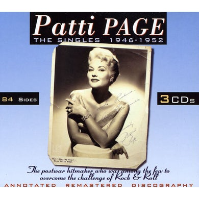 Patti Page SINGLES 1946 -1952 CD