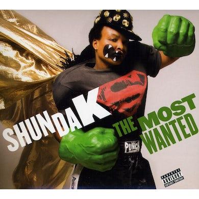 Shunda K MOST WANTED CD