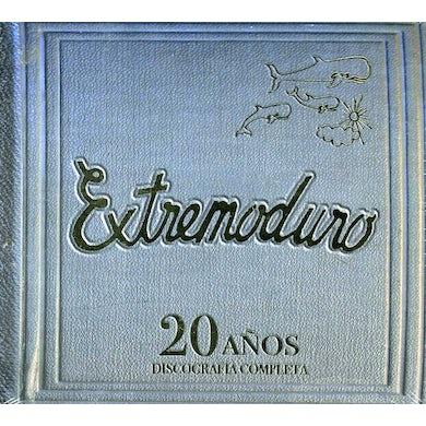 EXTREMODURO 20 ANOS: DISCOGRAFIA COMPLETA CD