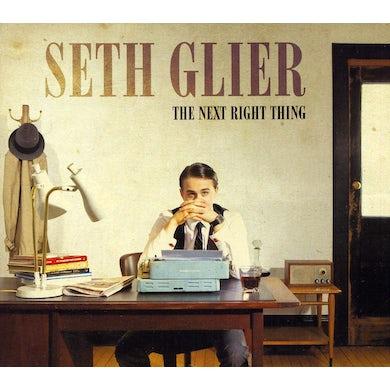Seth Glier NEXT RIGHT THING CD