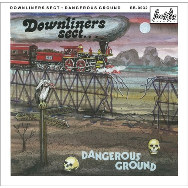 Downliners Sect DANGEROUS GROUND Vinyl Record