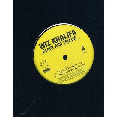 Wiz Khalifa BLACK & YELLOW (Vinyl)