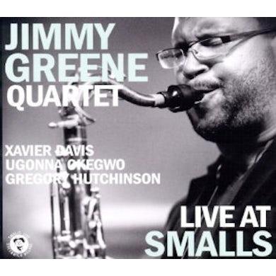 Jimmy Greene LIVE AT SMALLS CD