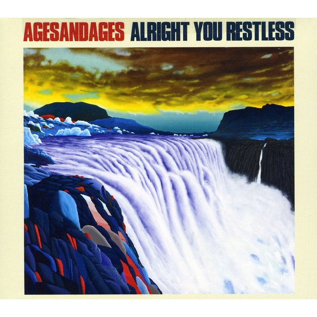 Agesandages ALRIGHT YOU RESTLESS CD
