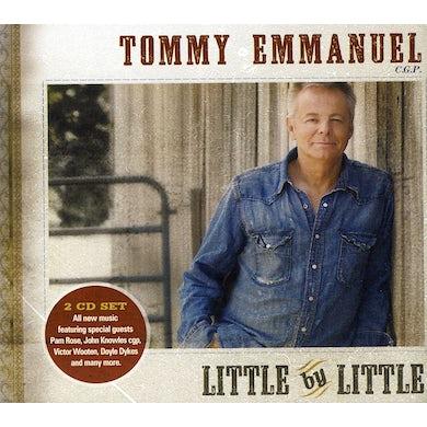 Tommy Emmanuel LITTLE BY LITTLE CD