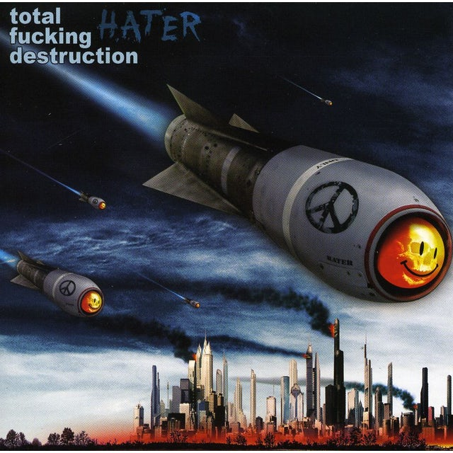 Total Fucking Destruction HATERS CD