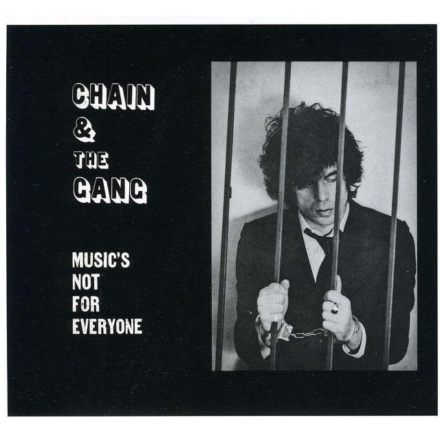 Chain & The Gang MUSIC'S NOT FOR EVERYONE CD