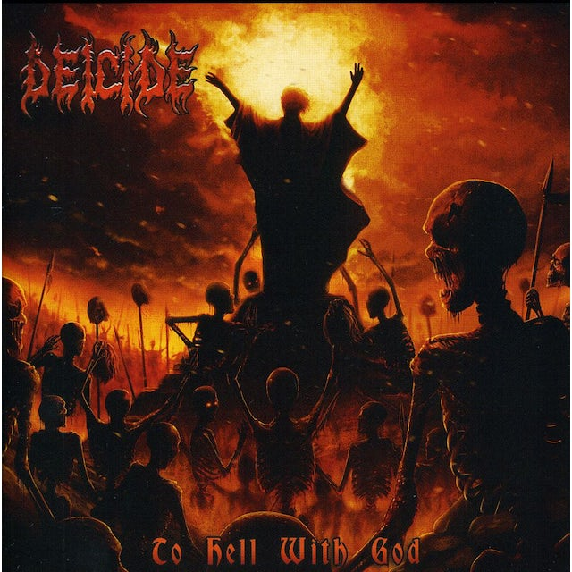 Deicide TO HELL WITH GOD CD