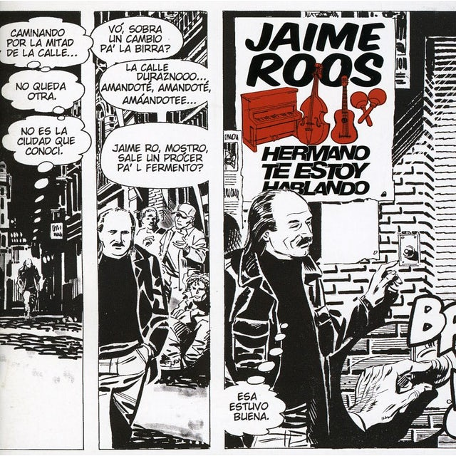 Jaime Roos HERMANO TE ESTOY HABLANDO CD