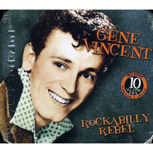 Gene Vincent ROCKABILLY REBEL CD