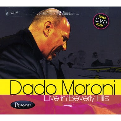 Dado Maroni LIVE IN BEVERLY HILLS CD