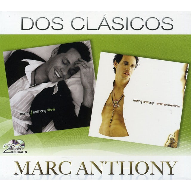Marc Anthony DOS CLASICOS CD