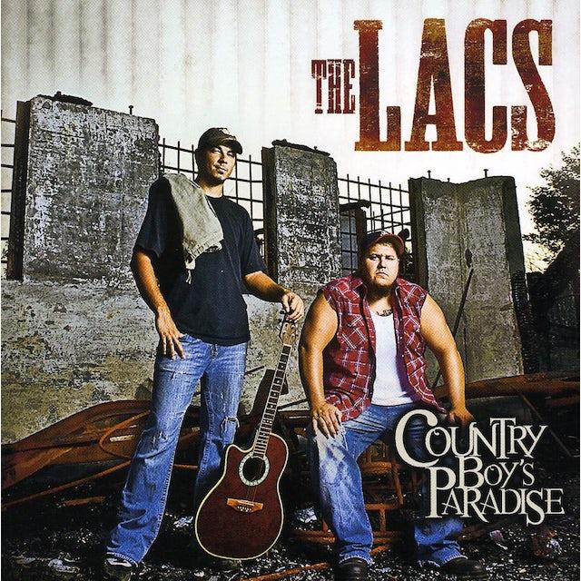 Lacs COUNTRY BOY'S PARADISE CD