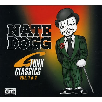 Nate Dogg G-FUNK CLASSICS 1 & 2 CD