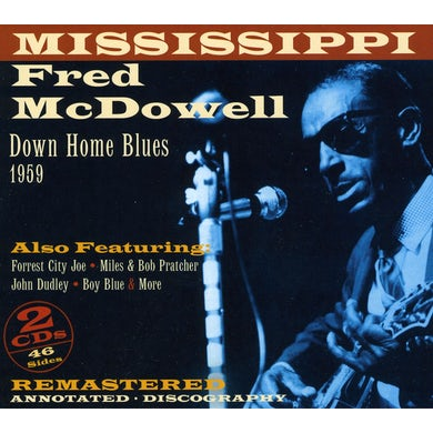 Fred Mcdowell DOWNHOME BLUES 1959 CD