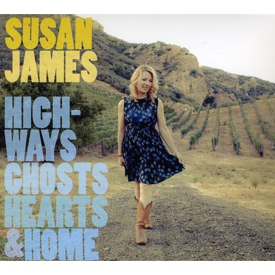 Susan James HIGHWAY GHOST HEARTS & HOME CD