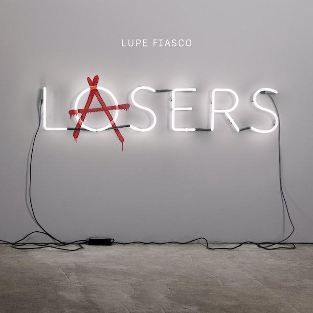 Lupe Fiasco LASERS Vinyl Record - Colored Vinyl