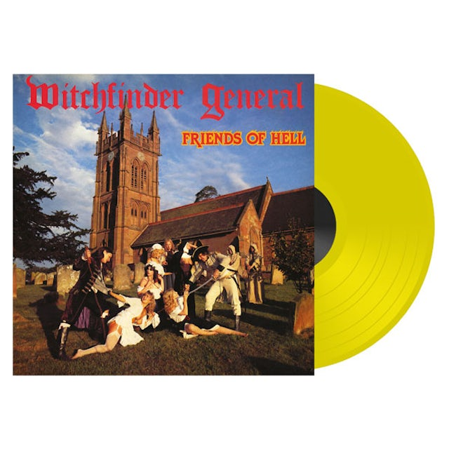 Witchfinder General FRIENDS OF HELL Vinyl Record