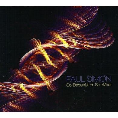 Paul Simon SO BEAUTIFUL OR SO WHAT CD