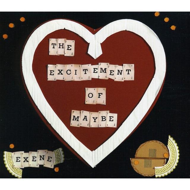 Exene Cervenka EXCITEMENT OF MAYBE CD