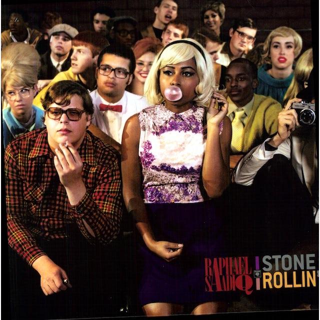 Raphael Saadiq STONE ROLLIN Vinyl Record