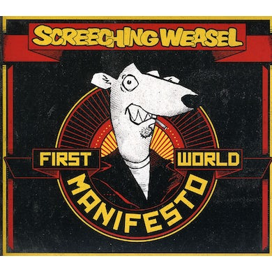 Screeching Weasel FIRST WORLD MANIFESTO CD