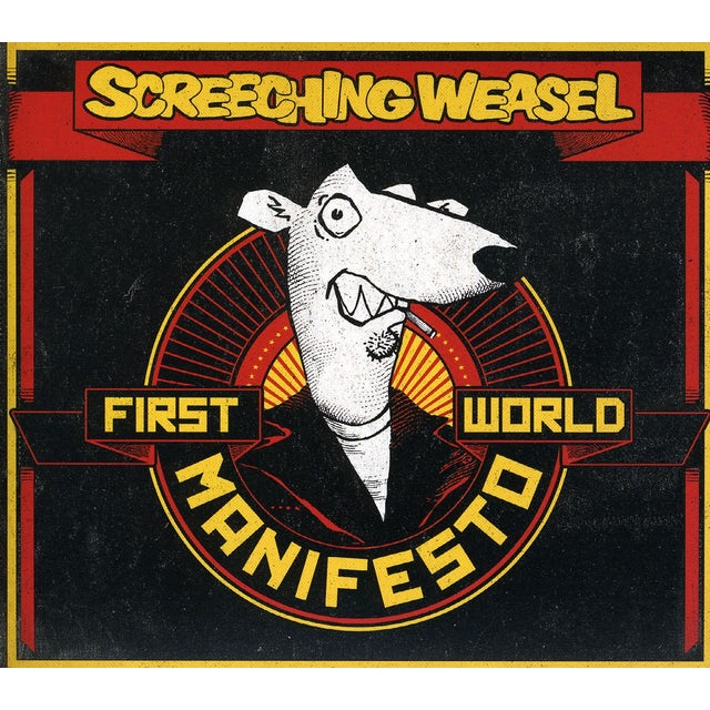 Screeching Weasel FIRST WORLD MANIFESTO CD
