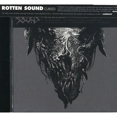 Rotten Sound CURSED CD