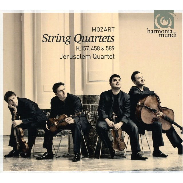 Mozart STRING QUARTETS / HUNT CD