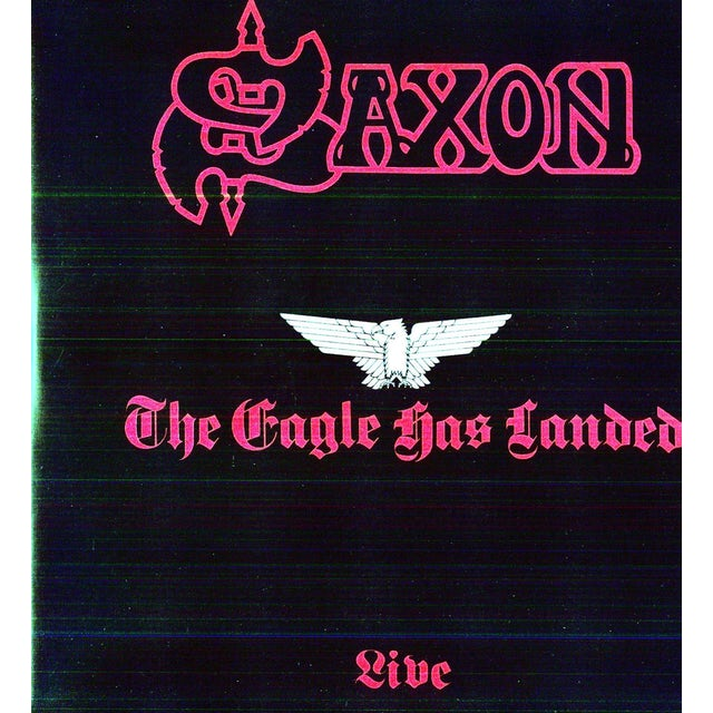 Saxon EAGLE HAS LANDED Vinyl Record