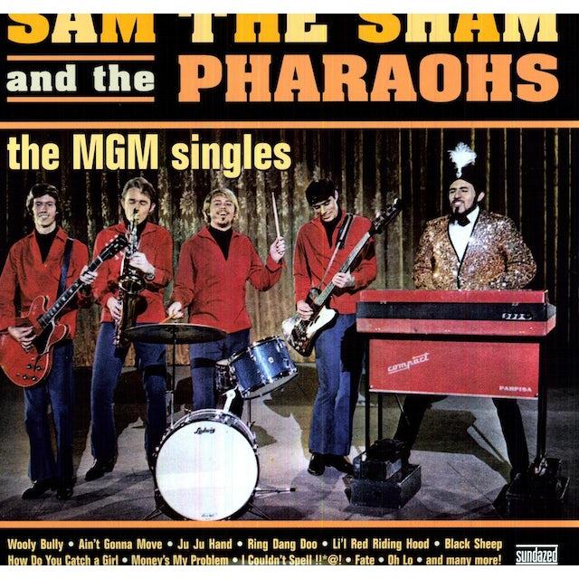 Sam The Sham & Pharaohs MGM SINGLES Vinyl Record