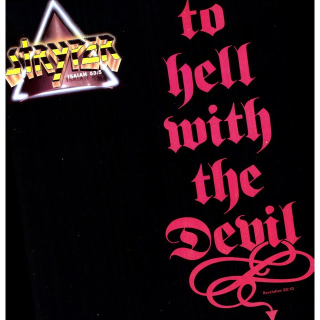 Stryper TO HELL WITH THE DEVIL Vinyl Record