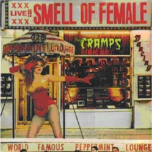 The Cramps SMELL OF FEMALE Vinyl Record