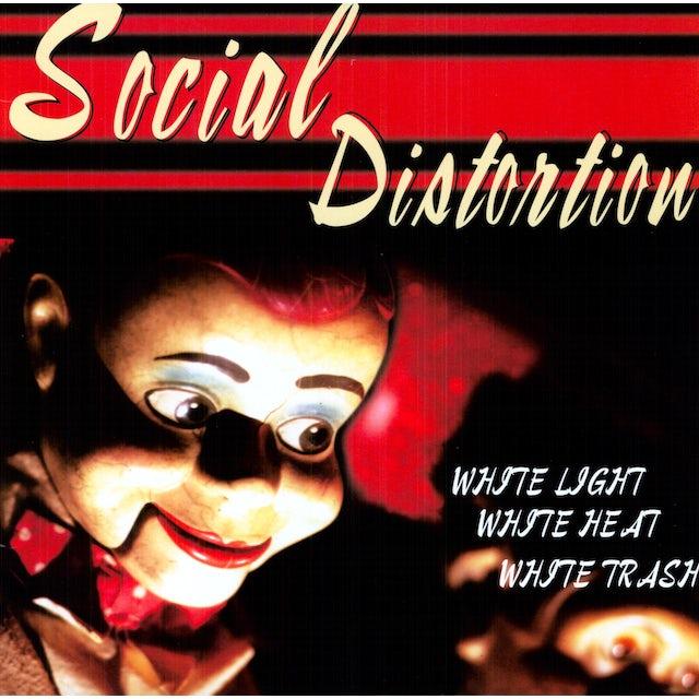 Social Distortion WHITE LIGHT WHITE HEAT WHITE TRASH Vinyl Record